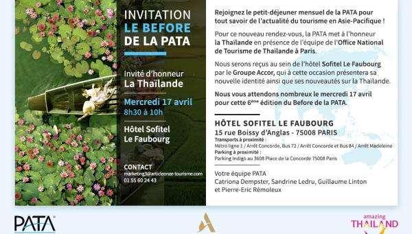 La PATA met la Thaïlande à l'honneur pour son prochain Before