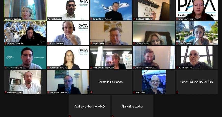 Première réunion 2021 en format virtuel des membres de la PATA France